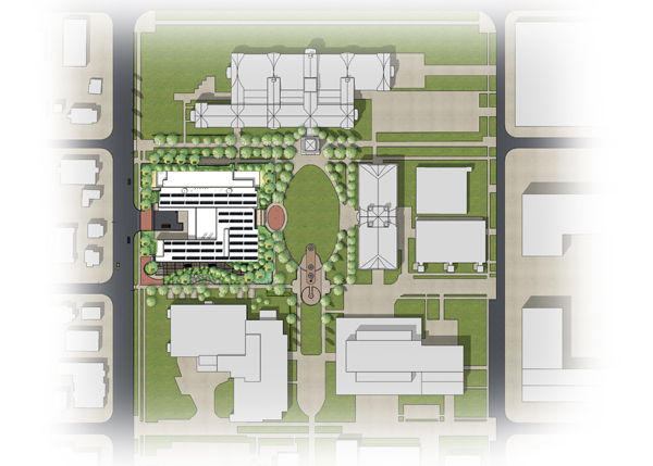 ECE Campus Site Plan