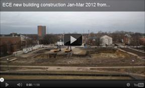ECE new building construction from CSL